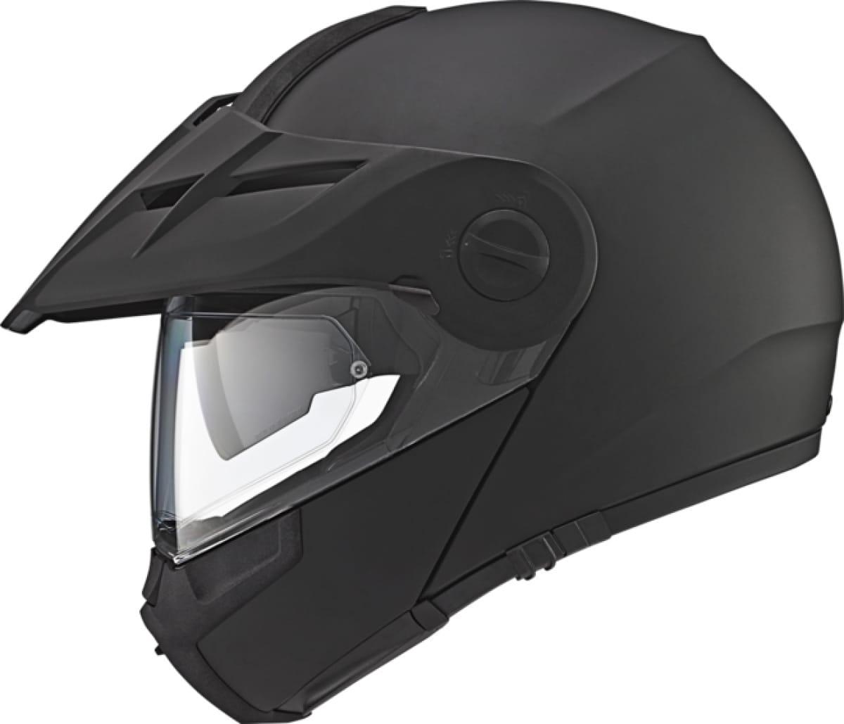 casque de moto de location noire