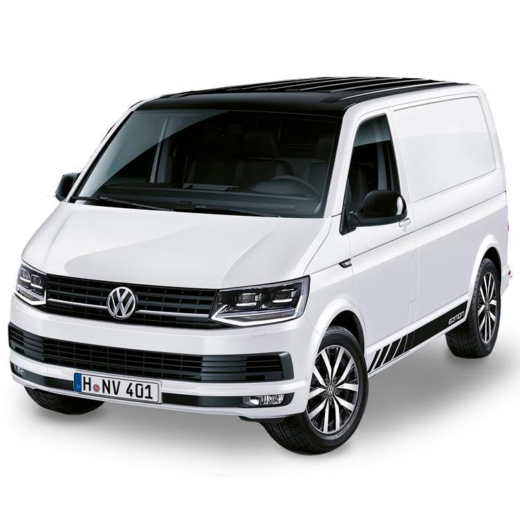 véhicule transporteur volkswagen blanc