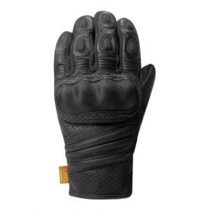 un gant de moto racer pour homme en noir